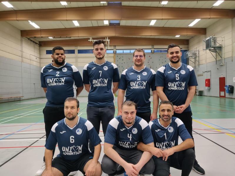 Photo de groupe de nos athlètes